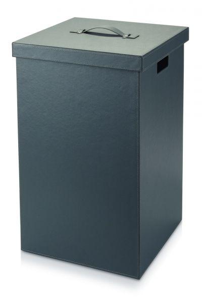 Möve Cube Wäschekorb grey