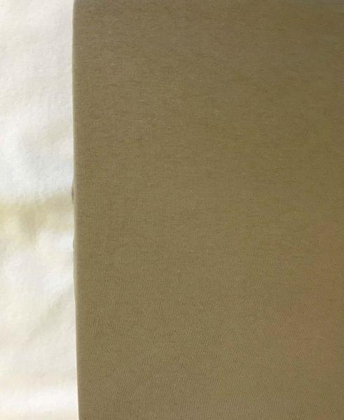 Spanntuch Baumwollejersey taupe für Kosmetik-und Terapieliegen
