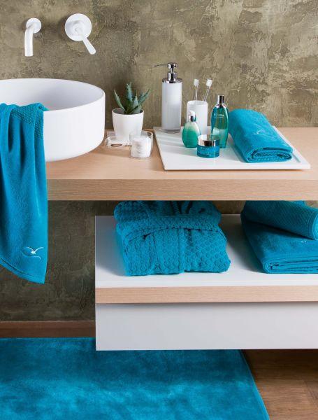 Bath & Beauty Frottierwäsche - Uni mit eingesticktem Logo