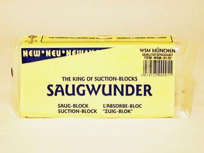 Saugschwamm/ Saugwunder