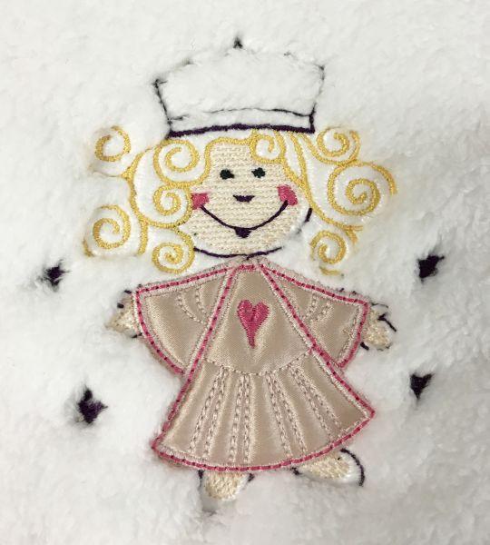 Baby-Latz mit Sticker Teddy-Plüsch