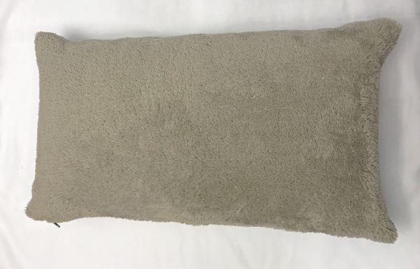 Klimakissen Piccolo 22x43cm inkl. Bezug Teddy-Plüsch