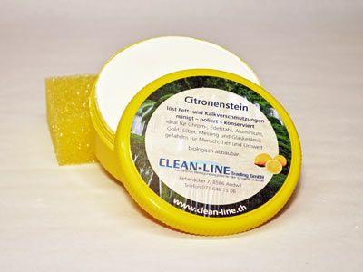 Citronenstein inkl. 1 Stk Schwamm