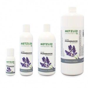 Molke-Pflegedusch mit Lavendelöl und Ringelblume